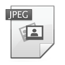 jpg, Jpeg WhiteSmoke icon