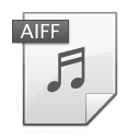 Aiff Gainsboro icon