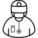 Health Clinic, hospital, Health Care, doctor, medical, medicine Black icon