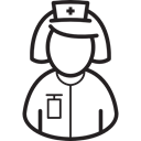 user, Health Care, work, profile, medical, hospital, Health Clinic Black icon