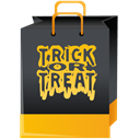 treat, trick, Bag DarkSlateGray icon