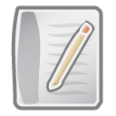 paper, document, File Silver icon
