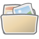 Folder, picture, image, pic, photo Wheat icon