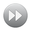 button, ffw, grey Gray icon