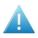 Blue, wrong, Alert, warning, Error, exclamation SteelBlue icon