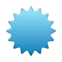 Label SkyBlue icon