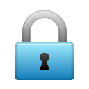 security, locked, Lock SteelBlue icon