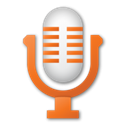 mic, red, Microphone Black icon