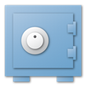 Blue, security SkyBlue icon