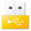yellow, Usb Gold icon