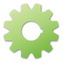 green, Gear DarkKhaki icon