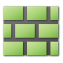 wall, green DarkKhaki icon