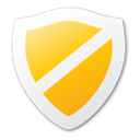 shield, Guard, yellow, protect, security Black icon