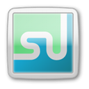 Social, social media, Stumbleupon, social network PowderBlue icon