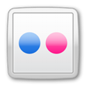 social media, Social, social network, flickr Gainsboro icon