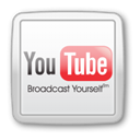 social media, social network, youtube, Social Gainsboro icon