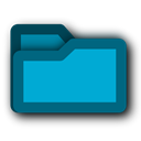 deep, Blue, Folder DarkTurquoise icon