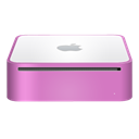 mini, mac, pink, finshed Black icon