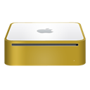 finshed, mac, yellow, mini Icon