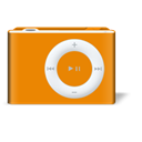 Orange, ipod, shuffle DarkOrange icon