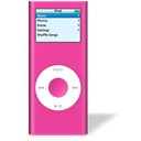 ipod, rose, nano Black icon