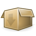 package, generic, pack Black icon