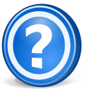 help, Browser RoyalBlue icon