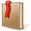 bookmark, Epiphany Black icon