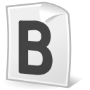 Text, document, Format, File, Bold Icon