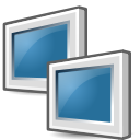 network, receive, Transmit SteelBlue icon