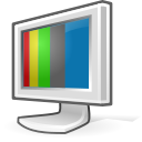 screen, video, Display, monitor, Computer Black icon
