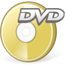 Dvd, media, disc DarkKhaki icon