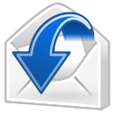 Sender, mail, Message, reply, Letter, Response, envelop, Email WhiteSmoke icon