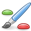 graphics, Application Black icon