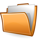 Folder, drag, Accept SandyBrown icon