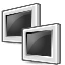 Idle, network DarkSlateGray icon