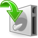 File, save, document, paper Black icon