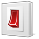 turn off, Power off, system, shutdown Gainsboro icon
