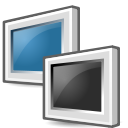 receive, network Black icon