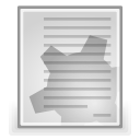 document, Source, Text, File Gainsboro icon