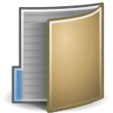 Folder, open DimGray icon