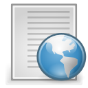 Text, html, document, File Gainsboro icon