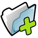 Fileimport Black icon