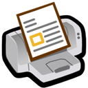 Fileprint Black icon