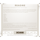 Readme Linen icon