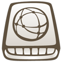 Alt, Hd, idisk DarkOliveGreen icon
