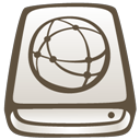 Hd, idisk DarkOliveGreen icon