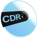 Cdr SkyBlue icon