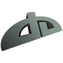 Deviantart Black icon