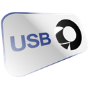 disc, Disk, Usb, save Black icon